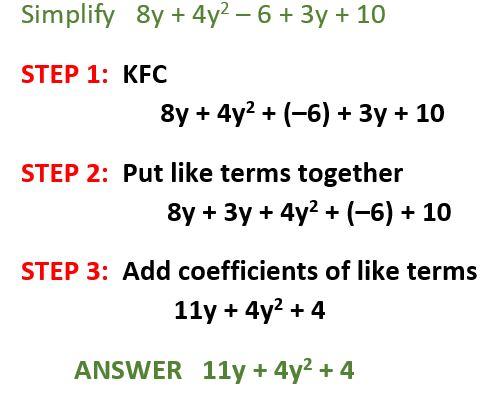 simplifying exp by clt gms foundations of algebra 2. Black Bedroom Furniture Sets. Home Design Ideas